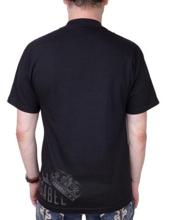 Pánské tričko OG Abel Fierce Lion A0245-BLK