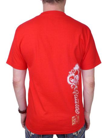 Pánské tričko OG Abel Hustle Key A0305-R-RED