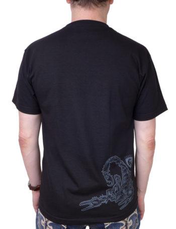 Pánské tričko OG Abel Scorpio A0360-BLK