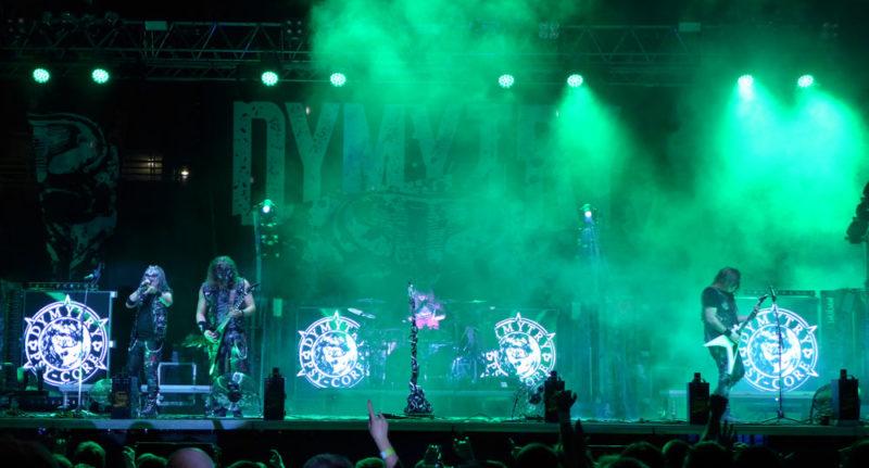 Ostrava v plamenech - Dymytry