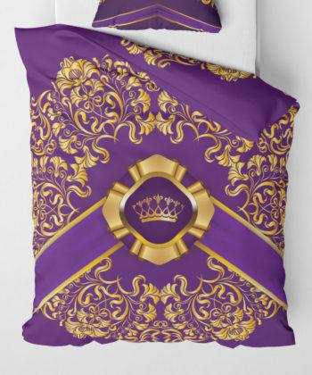 Povlečení přikrývka Royal Purple | Královská kolekce | ElitniRebel.cz