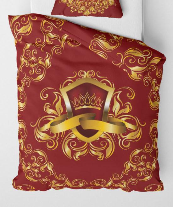Povlečení přikrývka Royal Red | Královská kolekce | ElitniRebel.cz