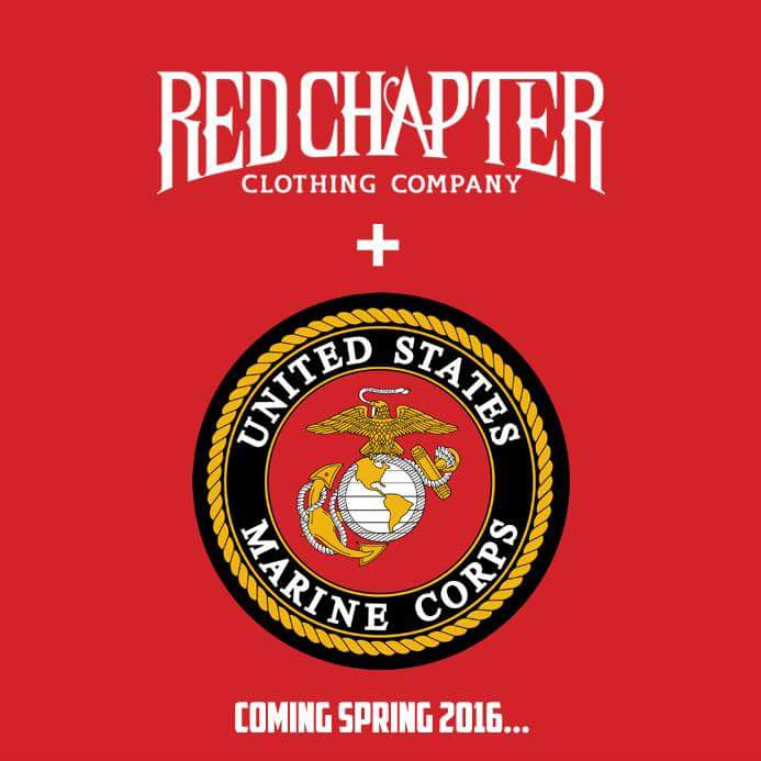 Red Chapter Clothing + US Marine Corps