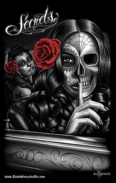 Symbo růže - DGA poster secrets