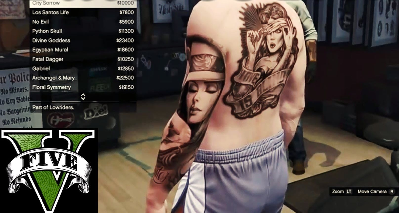 GTA V Tattoo Love Is Blind